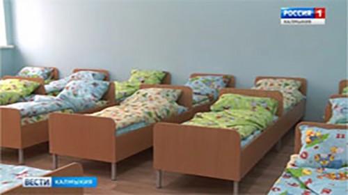 В Элисте до конца года будут реконструированы 7 дошкольных учреждений
