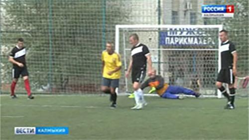 Гвардейцы открыли чемпионат по мини-футболу