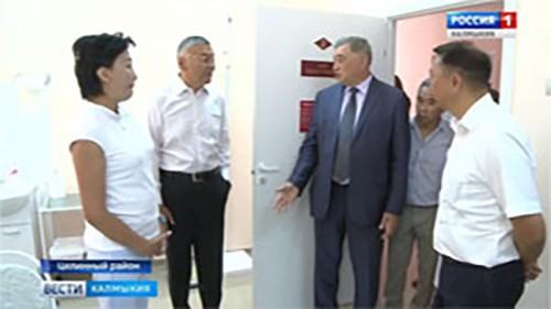 В поселке Хар-Булук открылся врачебный офис общей практики