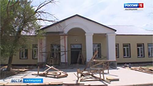 В Бергине завершили реконструкцию Дома культуры