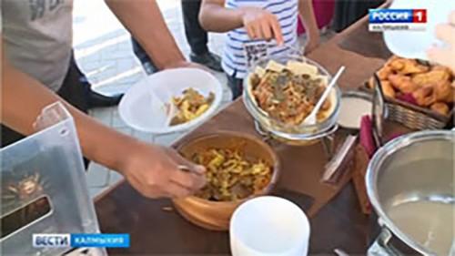 В Элисте открывается Фестиваль национальной кухни «Etno food»