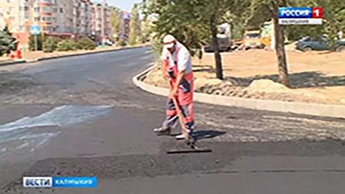 Калмыкия улучшит качество дорог