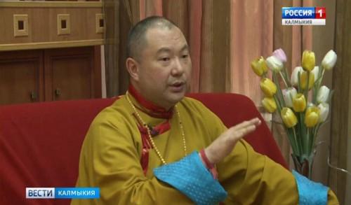Шаджин лама Калмыкии ответил на вопросы журналистов