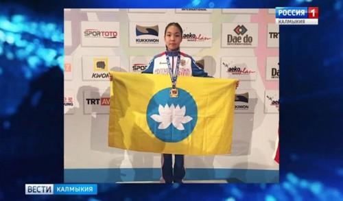 Даяна Бадмаева стала победителем Международного турнира по тхэквондо