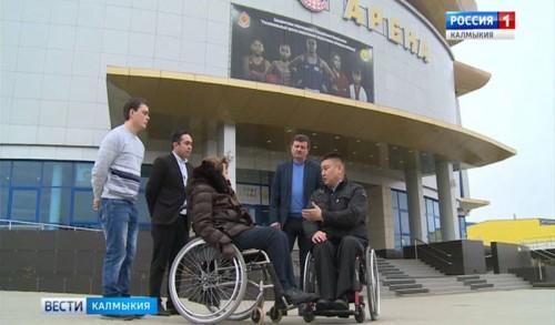«Ойрат-арена» открыта для адаптивного спорта