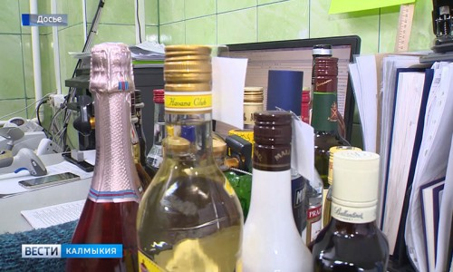 В Комсомольском выявили продажу алкоголя с поддельными акцизными марками