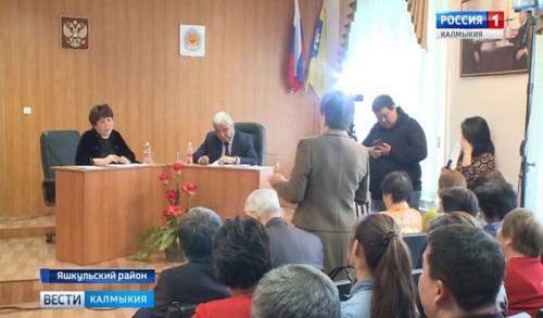 Глава Яшкульского района ответил на вопросы жителей в прямом эфире