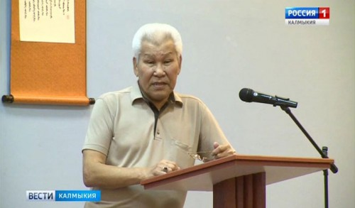 Ученый КалмГУ Андрей Бадмаев отмечает 80-летний юбилей