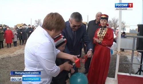 В поселке Чилгир Яшкульского района открылся фельдшерско-акушерский пункт