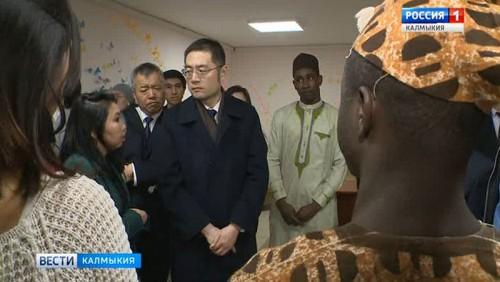 Китайская делегация посетила Калмыцкий госуниверситет