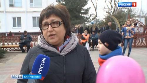 В Элисте состоялось праздничное мероприятие «Крым. Из глубины седых веков»
