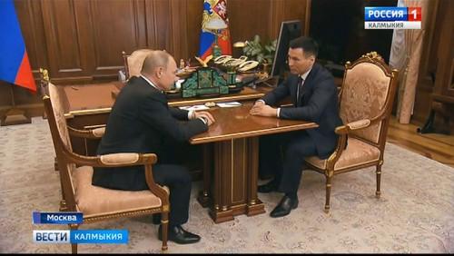 Владимир Путин назначил Бату Хасикова временно исполняющим обязанности Главы Республики Калмыкия
