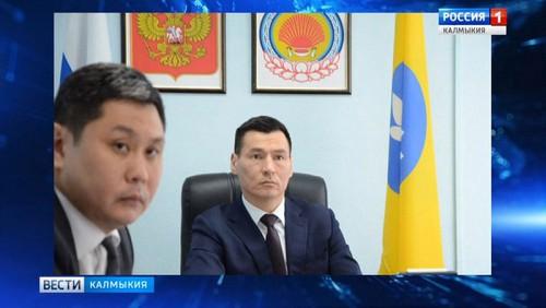 Бату Хасиков принял участие в видеоконференции c Антоном Силуановым