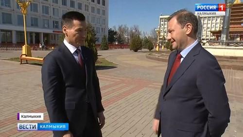 Бату Хасиков дал интервью для программы Сергея Брилёва «Вести в субботу»