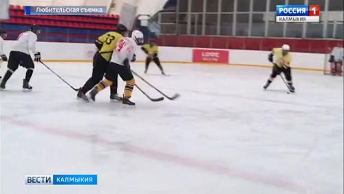 Хоккейная команда «Элиста» поборется за победу в любительском первенстве Ставропольского края