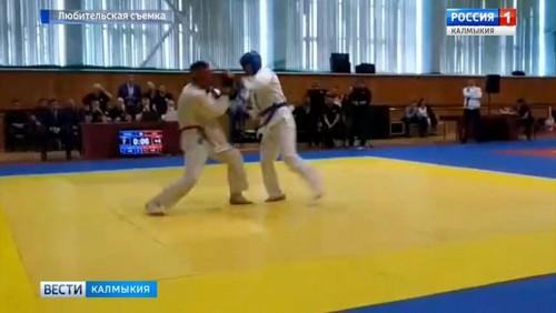 Представитель Калмыкии – победитель Чемпионата ЭФСБ России по рукопашному бою