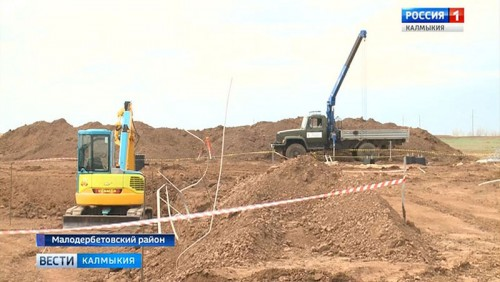 В Калмыкии начато строительство солнечных электростанций