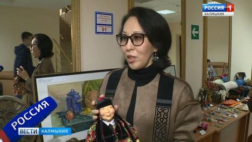 Калмыцкие умельцы-прикладники приняли участие в Неделе туризма
