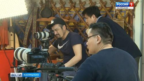 Монгольская творческая группа готовит фильм о Калмыкии