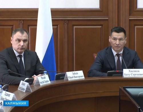 Председателем правительства Калмыкии назначен Юрий Зайцев