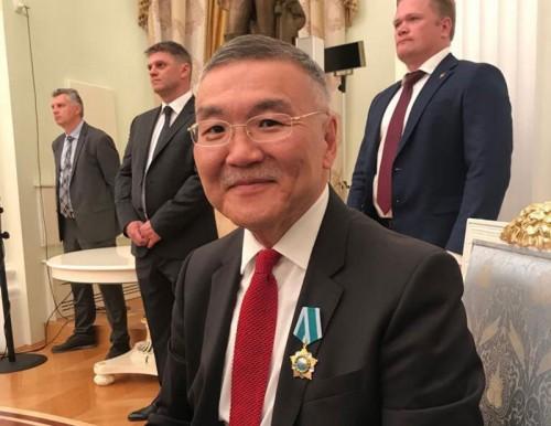 Алексей Орлов удостоен ордена Дружбы