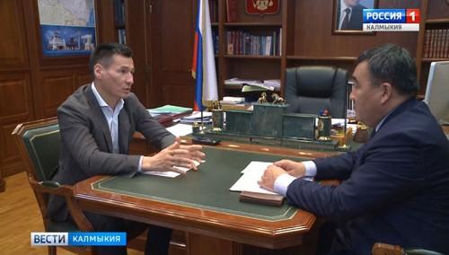 Бату Хасиков встретился с главным ветинспектором республики