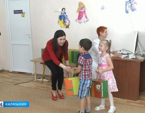 Подарки воспитанникам столичного детского сада