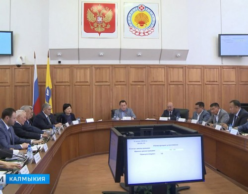 Депутаты Хурала заслушали доклад об исполнении бюджета