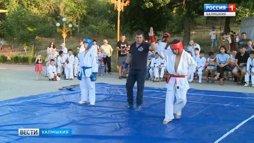 В Элисте прошел турнир по рукопашному бою