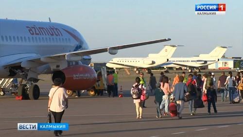 Открыт авиарейс в Крым