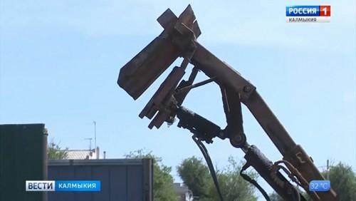 В Калмыкии реализуется мусорная реформа