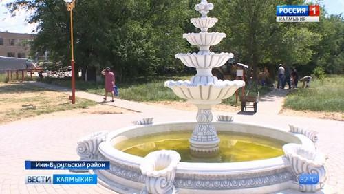 В Ики-Буруле будет завершено благоустройство малого парка