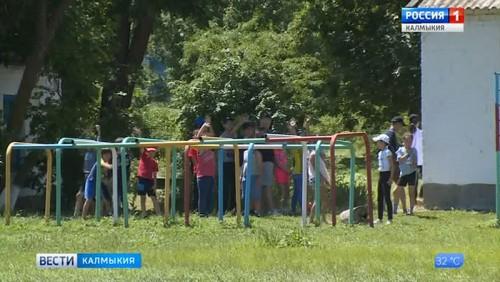 Сегодня «Сайгачонок» вновь распахнул двери для детей