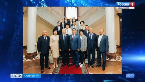 Парламенты Калмыкии и Бурятии подписали соглашение о сотрудничестве