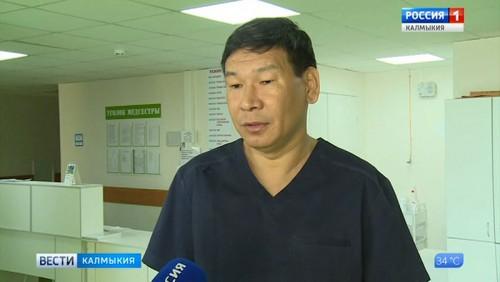Онкохирурги Калмыкии провели сложную операцию на печени пациента
