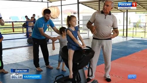 Дети из Калмыкии пройдут курс реабилитации в Дагестане