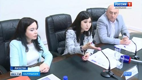 Марина Мукабенова встретилась с представителями министра по национальной политике Дагестана