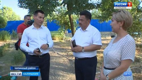 Бату Хасиков посетил ряд социальных объектов в Целинном районе