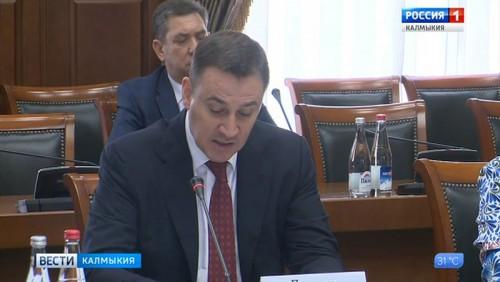 Дмитрий Патрушев отметил высокий потенциал аграрного сектора Калмыкии