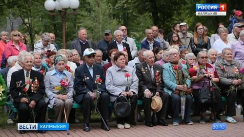 Ветеран из Калмыкии принял участие в торжественных мероприятиях в Беларуси