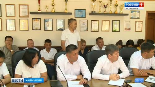 В администрации Элисты подвели итоги проверки пассажирских перевозок