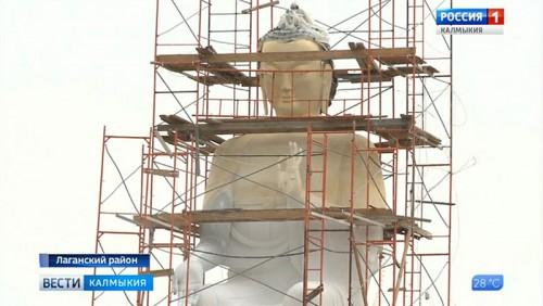 В Лагани появится статуя Будды Майтрейи