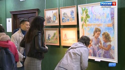 В Набережных Челнах откроется выставка «Художники Калмыкии в Татарстане»