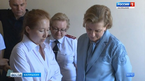 Анна Попова подвергла критике работу городских канализационных сооружений