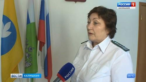 В Калмыкии ведется активная борьба с амброзией