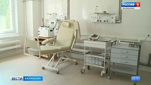 В республиканской больнице установлен новый аппарат для очистки крови