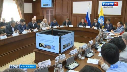 Бату Хасиков провел встречу с директором корпорации «МСП»