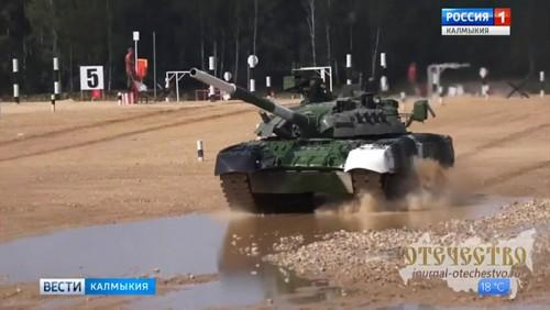 Уроженка Калмыкии в числе лучших танкистов мира