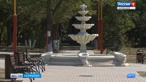 В Ики-Буруле завершено строительство парка