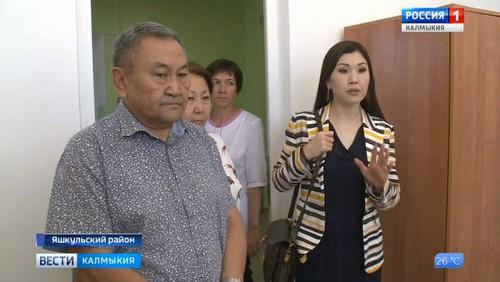 Рабочий визит Марины Мукабеновой в Яшкуль
